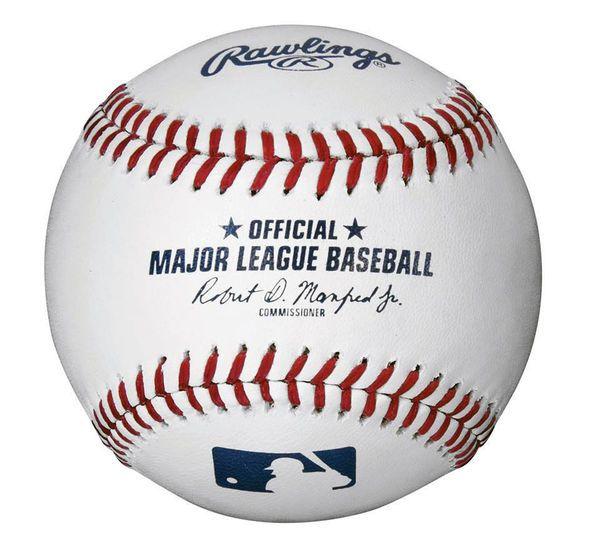 Unsigned Official Major League Baseball Stock #105707