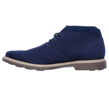 Mark Nason Skechers Men's Weldon Memory Foam Chukka Boots (Navy) - 13.0 M