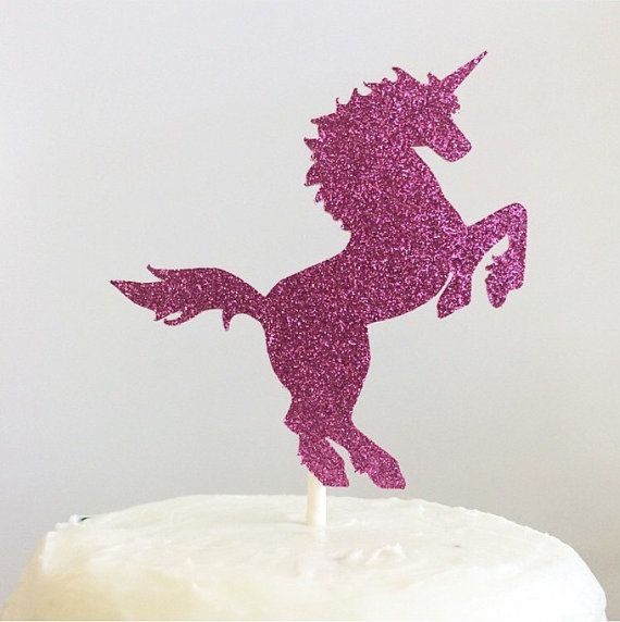 Unicorn Cake Topper First Birthday Cake Toppers Girl by Newwaykids