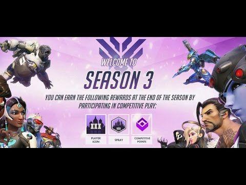 Jugando a Overwatch | Competitivo: Temporada 3 #overwatch #competitivo #juego #shooter #blizzard #directo #stream