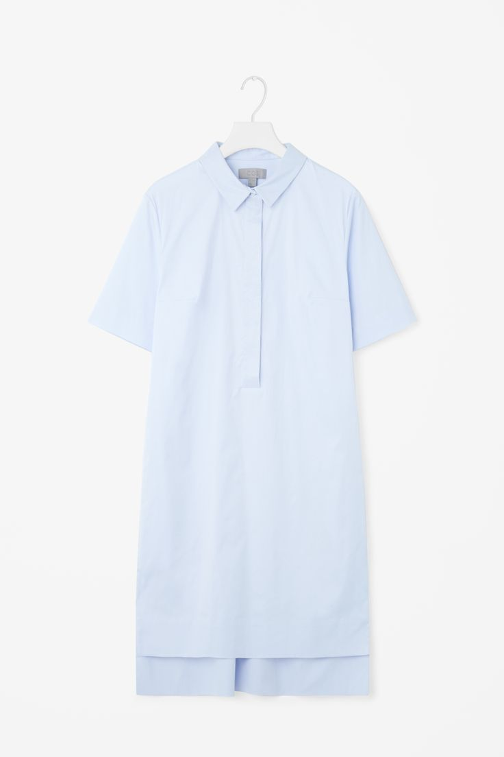 COS | Grosgrain detail shirt dress
