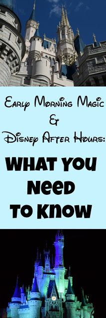 Two new ways to take advantage of down time at Magic Kingdom have been announced: Disney After Hours and Early Morning Magic- that allows both onsite and offsite guests a chance to enjoy lower crowd level and food perks for a charge in addition to theme park admission. Not sure what either is or if your family would be a good fit? Here's the scoop.