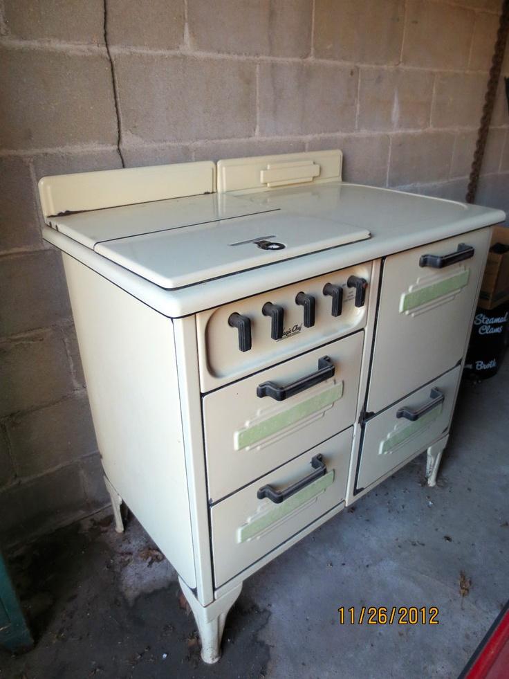 vintage art deco magic chef gas stove range fabulous - Magic Chef Oven