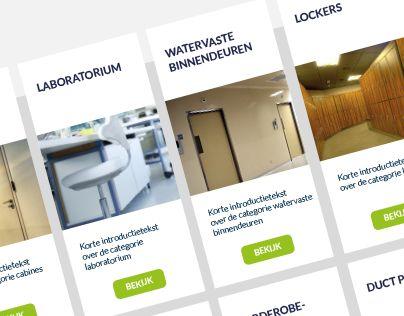 """Webdesign @Behance-project: """"Website Kupan"""" https://www.behance.net/gallery/26063553/Website-Kupan"""
