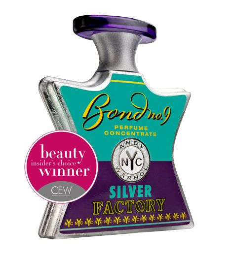 For when I'm feeling sultry... Bond No. 9 Andy Warhol Silver Factory (incense, wood resin, amber, jasmine, iris and violet)