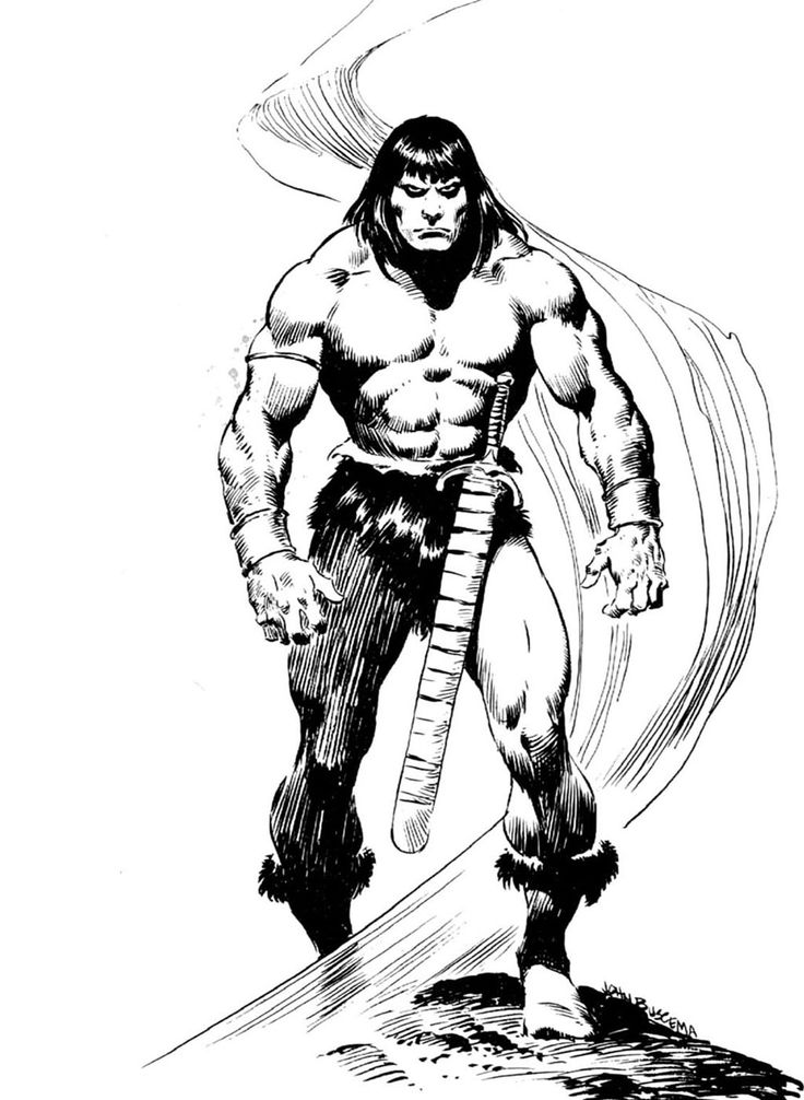 Conan Barbaro Personajes Comic Comic Books