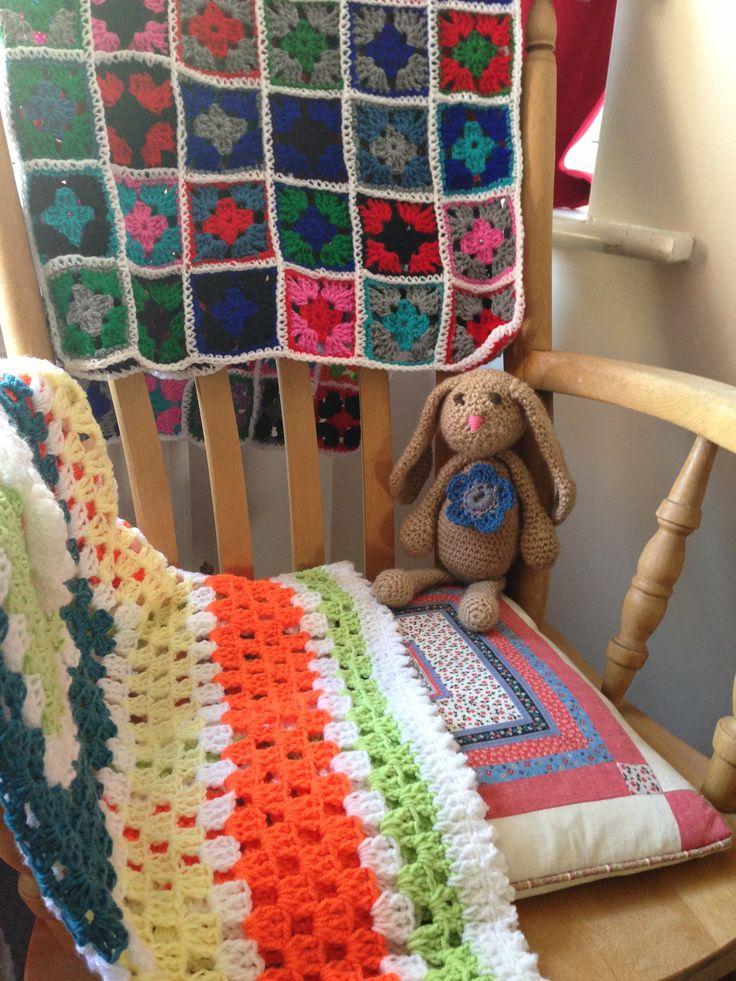 Crochet bunny love