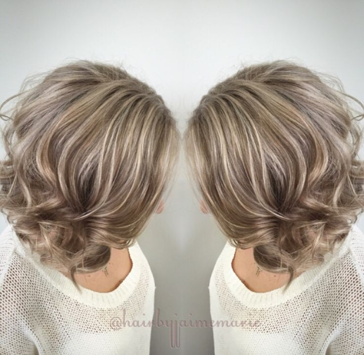 Ash blonde bob highlights and lowlights platinum blonde ...