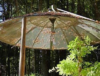Repurposed satellite dish