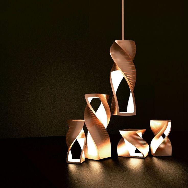 Светильники, керамические) #design #3D #industrialdesign #светильники
