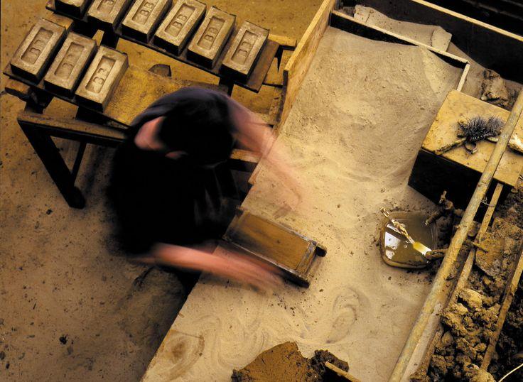Handmaker at work