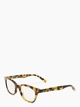 Kate Spade Rebecca reading glasses - if only they had this shape for sunglasses!