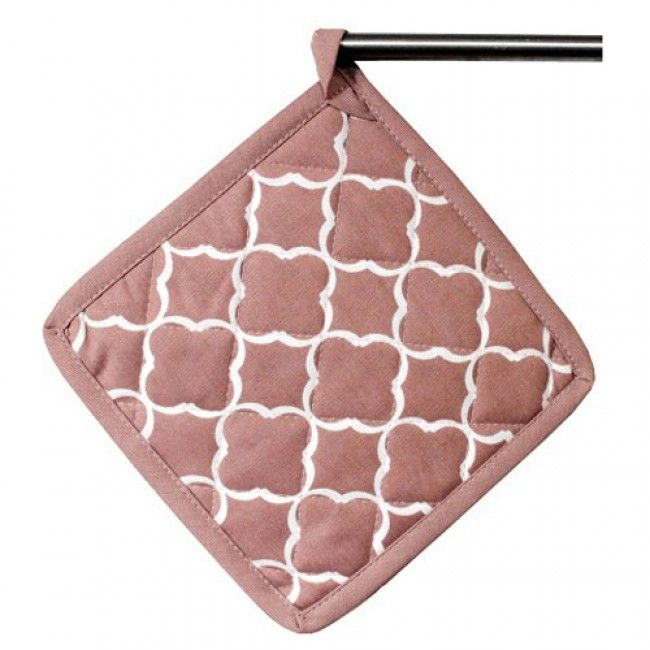 Elce Stockholm - Palm Springs - Grytlapp dusty rose 20x20 cm 2-pack