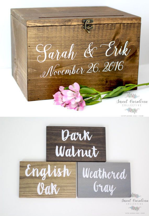 Rustic Card Boxes Page 1 Of 2
