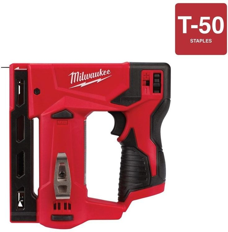 "Brand New  Milwaukee 2447-20 M12 3//8/"" Crown Stapler Tool Only"