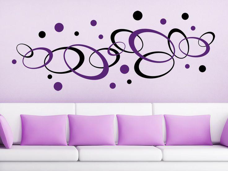 Die besten 25+ zweifarbige Wände Ideen auf Pinterest Wände in - wandtattoo braune wand