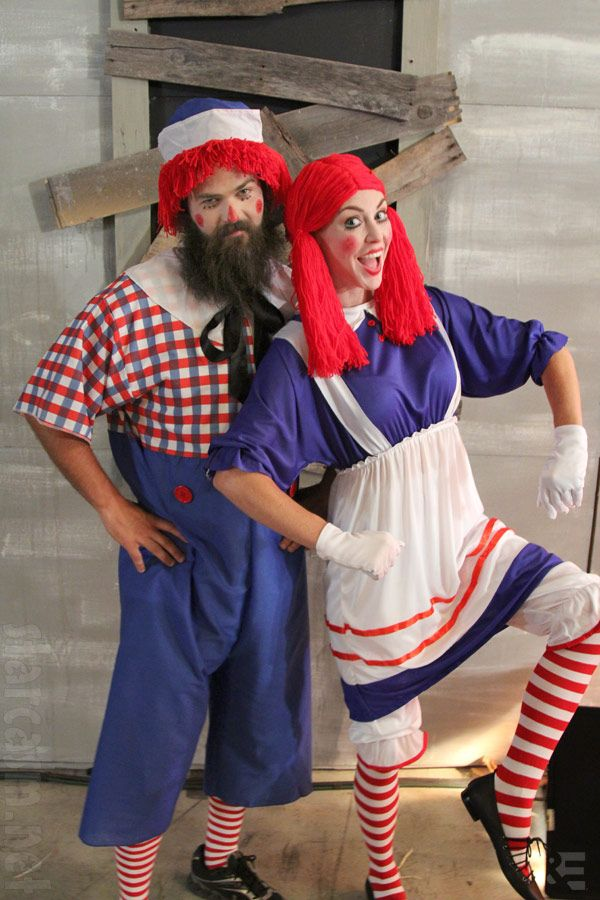 duck dynasty halloween | Duck Dynasty Halloween costumes Jep and Jessica Robertson