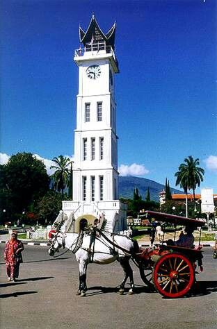 Jam gadang,Bukittinggi,West Sumatra, Indonesia