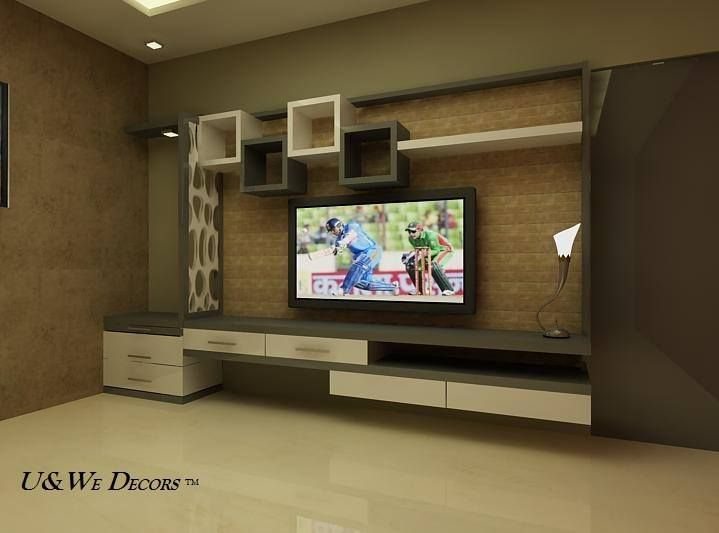 Pin by saravanan sehwag on nice in 2019 tv unit design - Modern tv wall unit designs for living room ...
