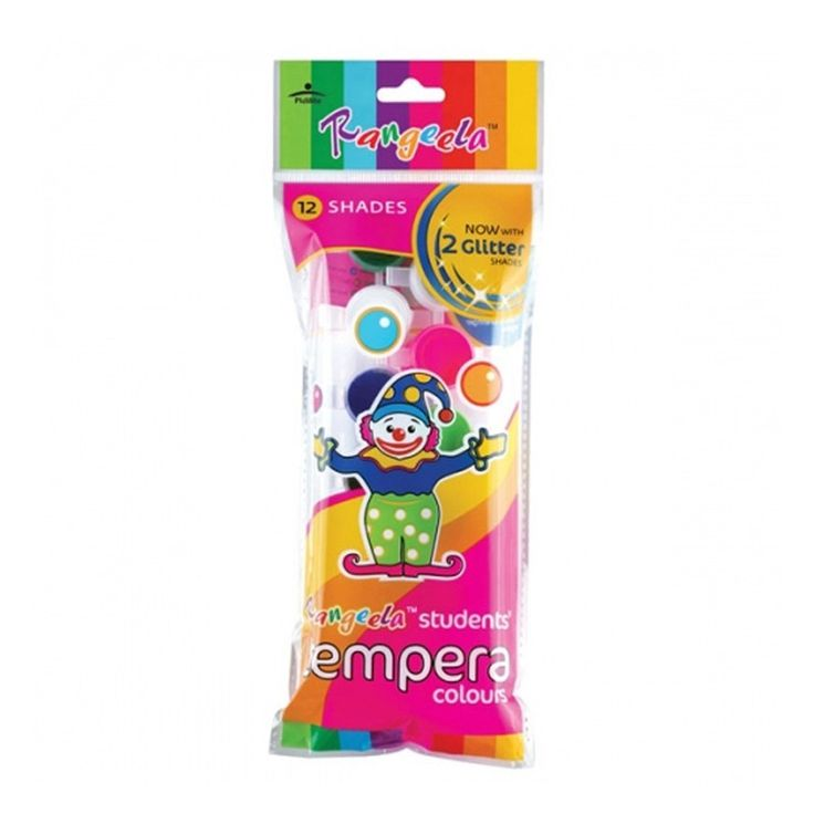 Buy #Camlin #Tempera #Colour - 4ml (#Pack of 10 with 6 #Shades) at Best Price in India for Rs.145/-