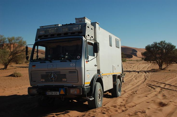 Mercedes Benz 1017A Expedition Vehicle   MotorHome ...