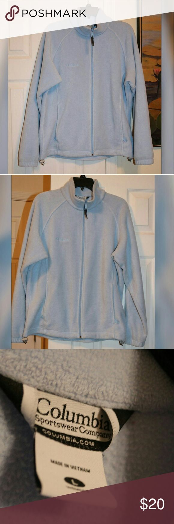 Columbia Sportswear Company Jacket Size L Great soft jacket .Excellent condition . Columbia Sportswear Company Jackets & Coats