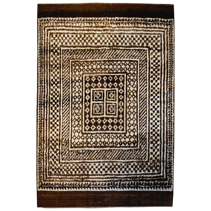 Incredible 19th Century Gabbeh Rug | From a unique collection of antique and modern persian rugs at https://www.1stdibs.com/furniture/rugs-carpets/persian-rugs/