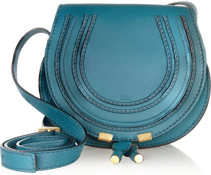 Chloé The Marcie mini textured-leather shoulder bag on shopstyle.co.uk