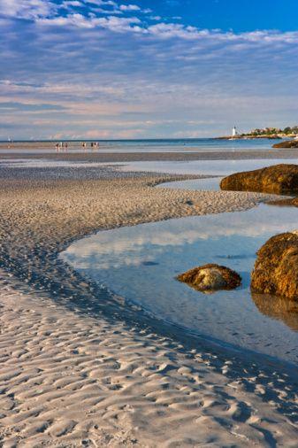 Wingaersheek Beach, Gloucester, Cape Ann, Massachusetts, Usa