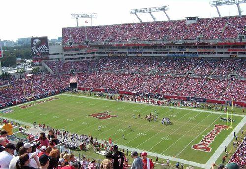 Raymond James Stadium, Tampa, FL. #FuckTheBucs