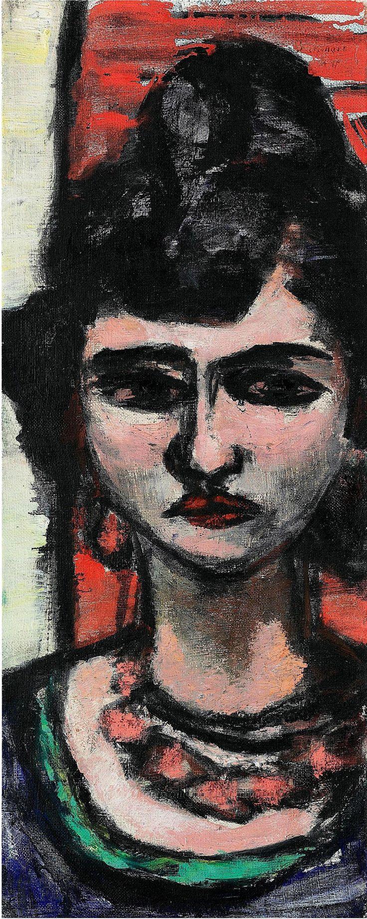 Макс Бекман «Женщина из Италии»