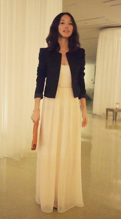 Formal Long Skirt And Blouse
