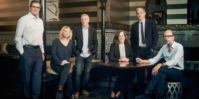 Check out THR's annual roundtable, with this year's six top feature film proudcers — Peter Chernin (EXODUS), Eric Fellner (THE THEORY OF EVERYTHING),  John Lesher (BIRDMAN), Marc Platt (INTO THE WO...