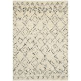 Found it at Wayfair - Casablanca  White / Grey Rug