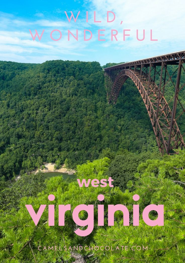 Summer Travel: The Ultimate Road Trip Through West Virginia. The second part of an epic West Virginia Road Trip including hiking along an old rail trail, a Salt Works Tour, an Adult Summer Camp, and the longest single-span arch bridge in the Northern Hemisphere. | Camels and Chocolate