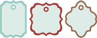 Gift Tags SVG