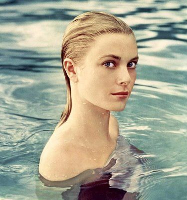 grace kelly--one of her most famous photos. She was a very nice lady and a loyal friend.