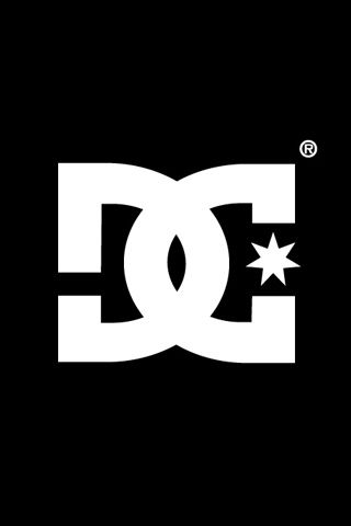 DC Shoes Logo iPhone wallpaper