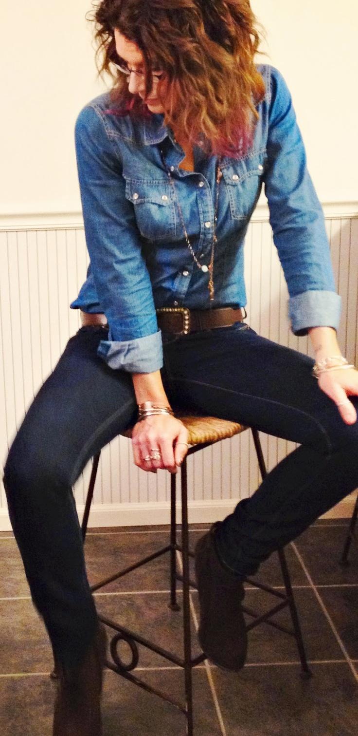 How to wear denim on denim - #fashion
