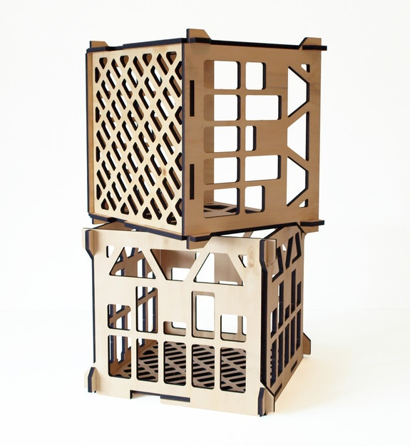Plywood milk crates cnc inspiration pinterest for Where can i buy wooden milk crates
