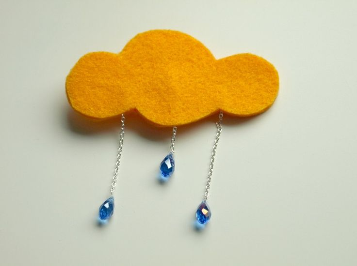 Maria Just Do It: DIY Cloudy Brooch