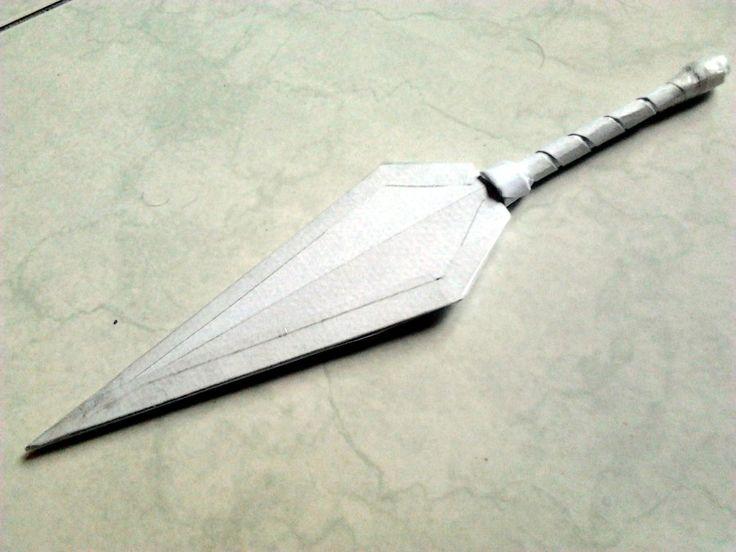 as 25 melhores ideias de origami kunai no pinterest