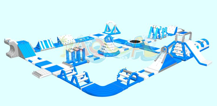 Giant Inflatable Water Playground For Sale