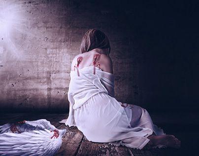 "Check out new work on my @Behance portfolio: ""Fallen Angel"" http://be.net/gallery/53164611/Fallen-Angel"
