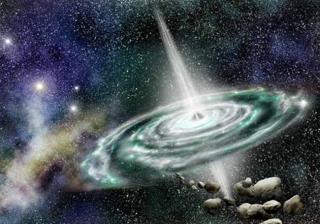 Los cuatro tipos de agujeros negros que hay en el universo.