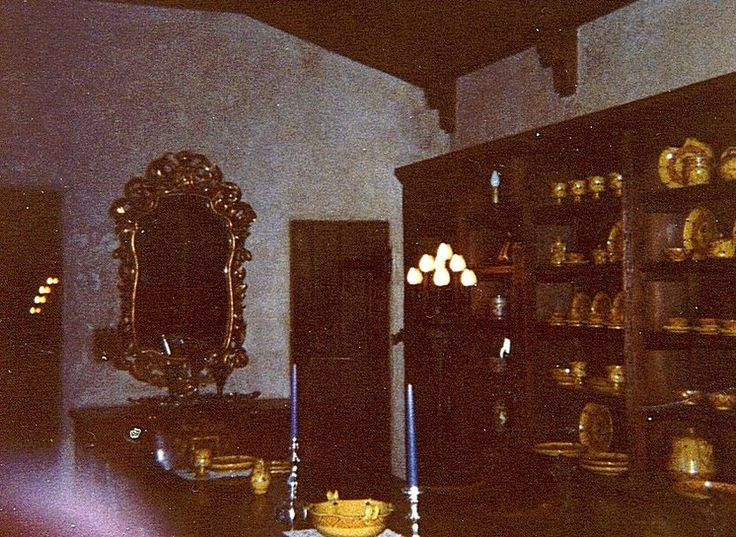 Scotty's Castle Interior From Our 1980 Trip to Nevada and ...