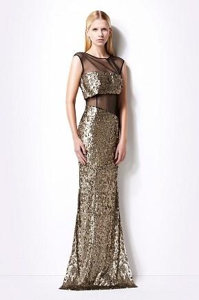 Sleeveless bodycon sequin dress- Izmaylova