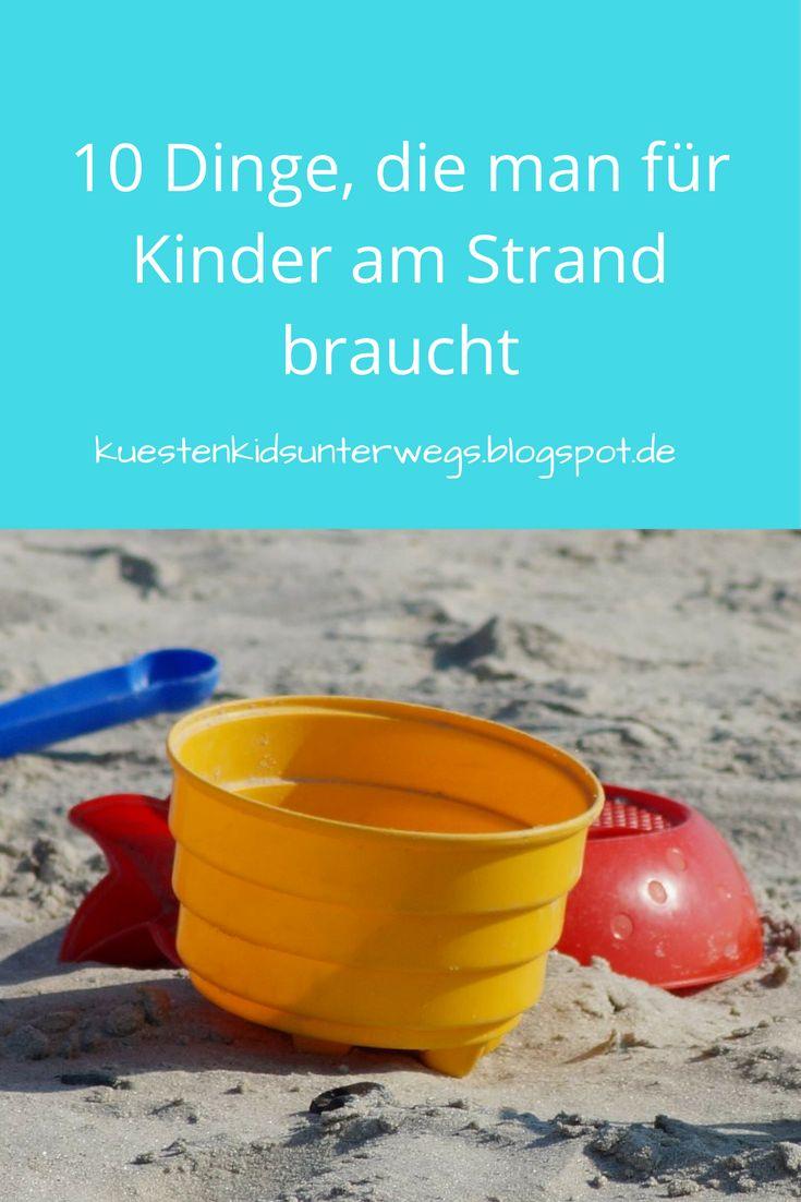 Hier erfahrt Ihr, was Ihr für Kinder am Strand braucht und mitnehmen solltet, damit der Tag am Meer für alle ein Vergnügen wird!
