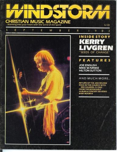 Windstorm Christian Music Magazine Vol 1 No 3 Sept 1983 Kerry Livgren CCM   eBay