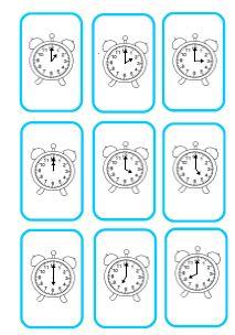 Jeux pour lire l'heure CP-CE1 - Fée des écoles